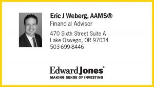 Eric Weberg, Edward Jones logo