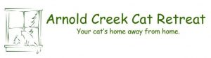 Arnold Creek Cat Retreat logo