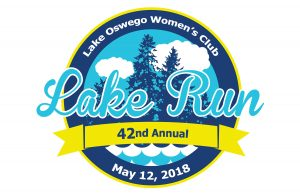 Lake Oswego Lake Run 2018 logo