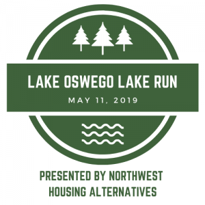 Lake Oswego Lake Run logo