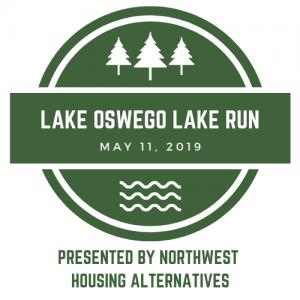 Lake Oswego Lake Run logo