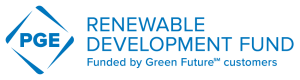 PGE Renewable Development Fund logo