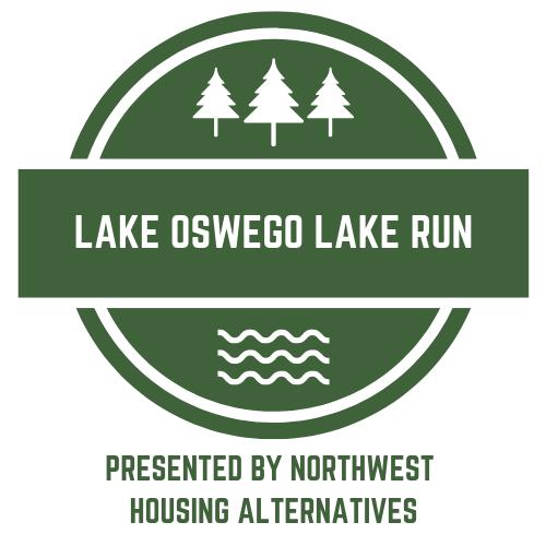The Lake Oswego Lake Run logo